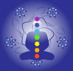 7-ма чакра Сахасрара - цвят цикламено, виолетово и бяло
